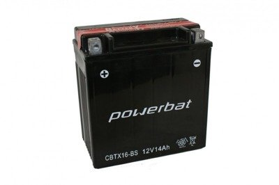 Battery 12 V 14 Ah POWERBAT CBTX16-BS