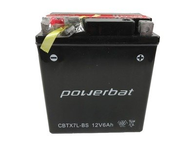 Battery 12 V  6 Ah POWERBAT CBTX7L-BS