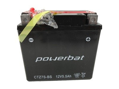 Battery 12 V 6 Ah POWERBAT CTZ7S-BS (CTZ7S)