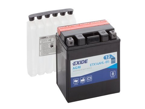Battery 12V  12Ah YTX14AHL-BS EXIDE