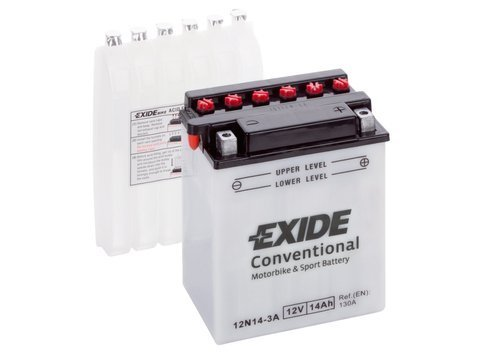 Battery 12V  14Ah 12N14-3A EXIDE
