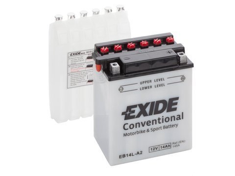 Battery 12V  14Ah YB14L-A2 EXIDE