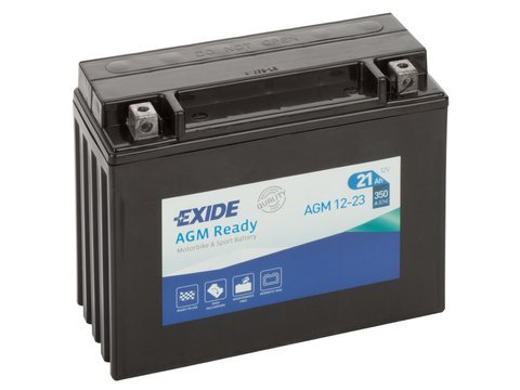 Battery 12V  21Ah AGM12-23 EXIDE