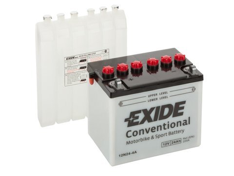 Battery 12V 24Ah 12N24-4A EXIDE Bike