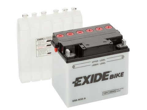 Battery 12V 30Ah E60-N30-A EXIDE Bike