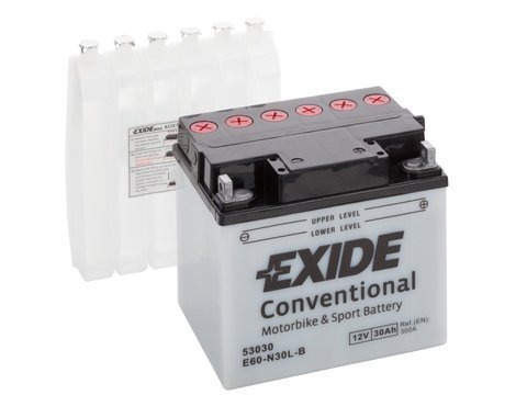 Battery 12V 30Ah E60-N30L-A EXIDE Bike