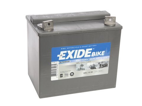 battery 12v 30ah gel12 30 exide akumulatory motocycle. Black Bedroom Furniture Sets. Home Design Ideas