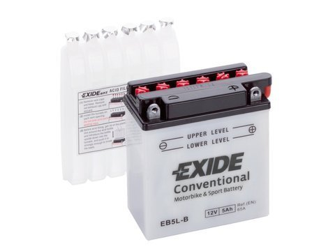 Battery 12V   5Ah  YB5L-B EXIDE