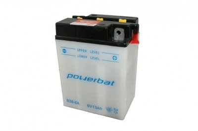 Battery 6 V 13 Ah POWERBAT B38-6A