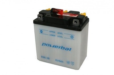 Battery 6 V  6 Ah POWERBAT 6N6-3B