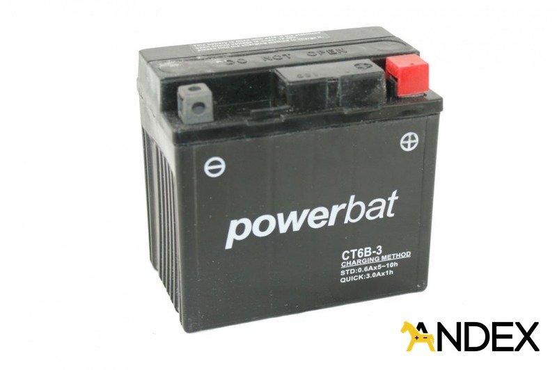 battery 12 v 6 ah ct6b 3 moto power akumulatory motocycle batteries powerbat powerbat. Black Bedroom Furniture Sets. Home Design Ideas