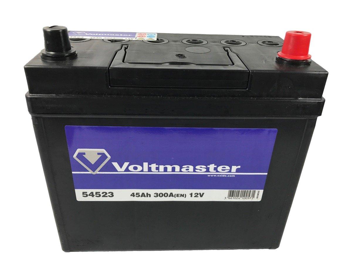 battery 12v 45ah voltmaster 54523 akumulatory car. Black Bedroom Furniture Sets. Home Design Ideas