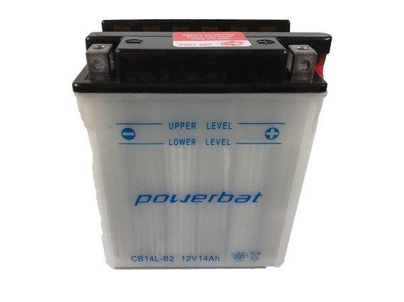 Battery 12 V 14 Ah POWERBAT CB14L-B2