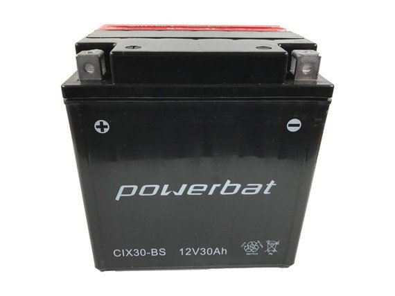 Battery 12 V 30 Ah POWERBAT CIX30