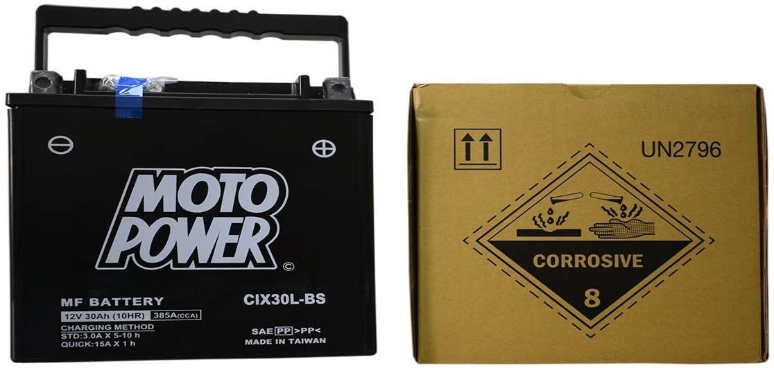 Battery 12 V 30 Ah POWERBAT CIX30L