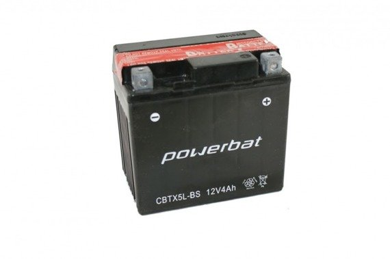 Battery 12 V  4 Ah POWERBAT CBTX5L-BS
