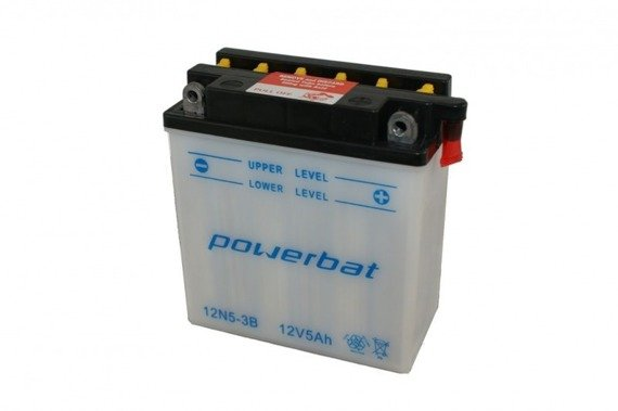Battery 12 V  5 Ah POWERBAT 12N5-3B
