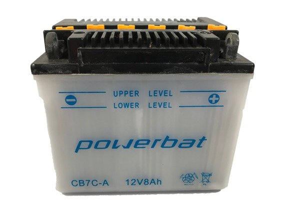 Battery 12 V  8 Ah POWERBAT CB7C-A