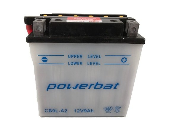 Battery 12 V  9 Ah POWERBAT CB9L-A2