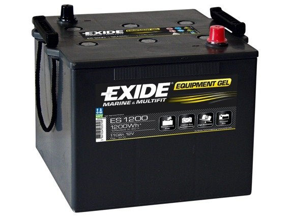 Battery 12V 110Ah EXIDE EQUIPMENT GEL ES1200