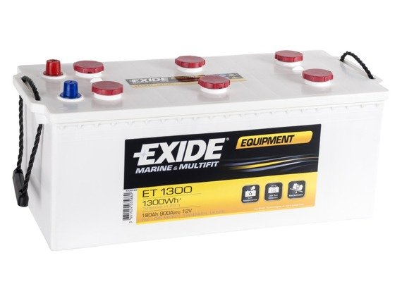 Battery 12V 180Ah EXIDE EQUIPMENT ET1300