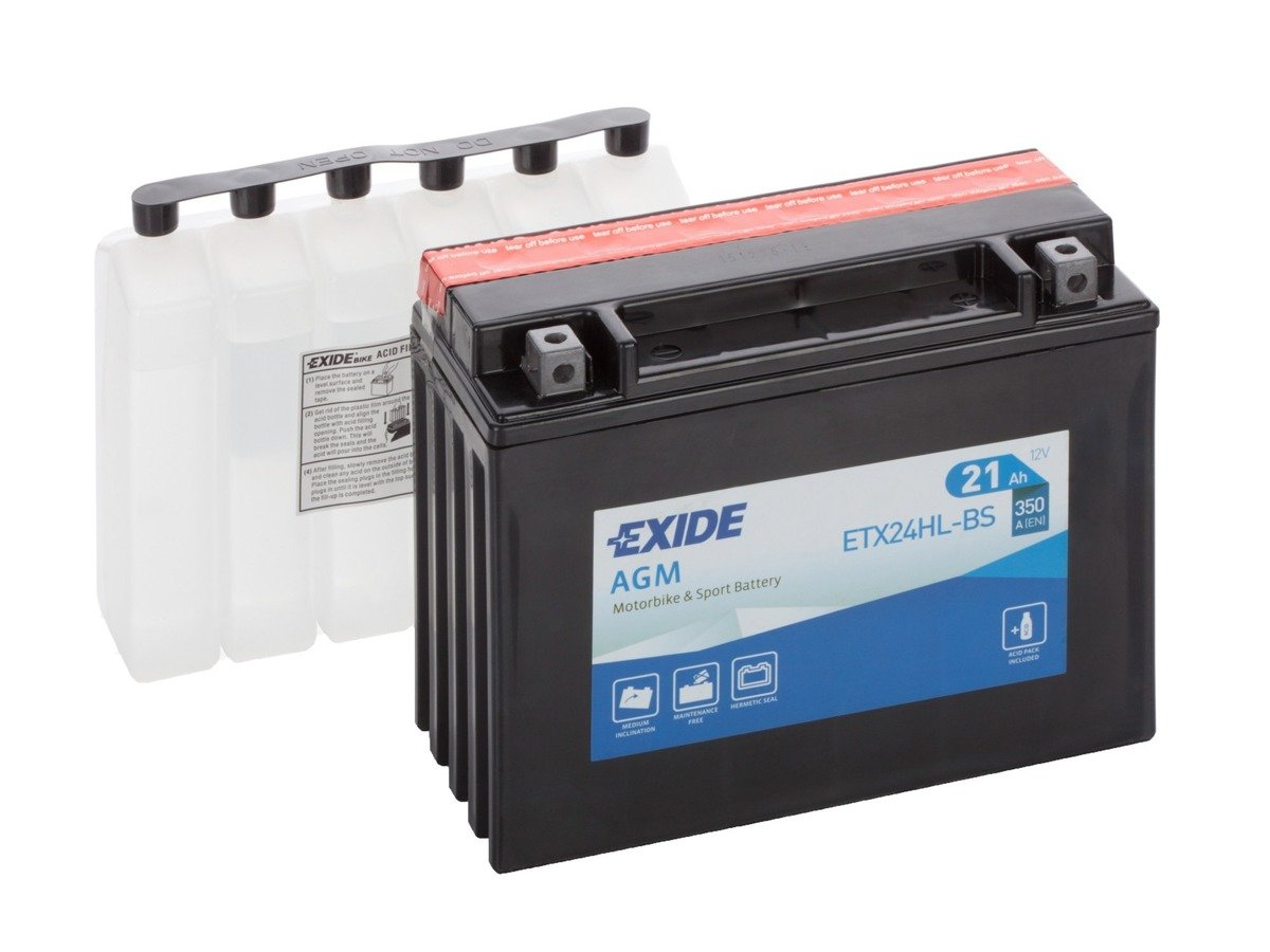 Battery 12V  18Ah YTX24HL-BS EXIDE