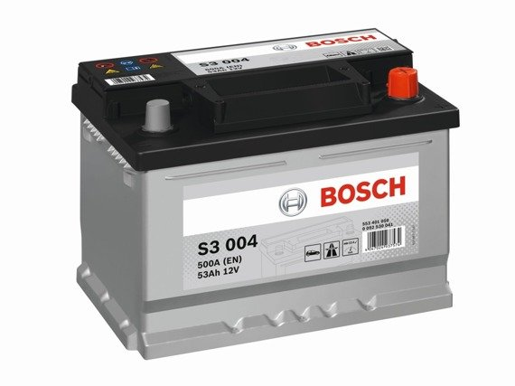 Battery 12V  53Ah S3004 BOSCH S3
