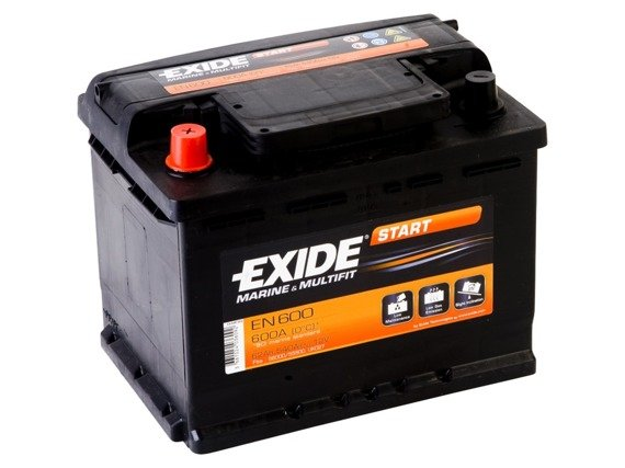 Battery 12V  62Ah EXIDE START EN600