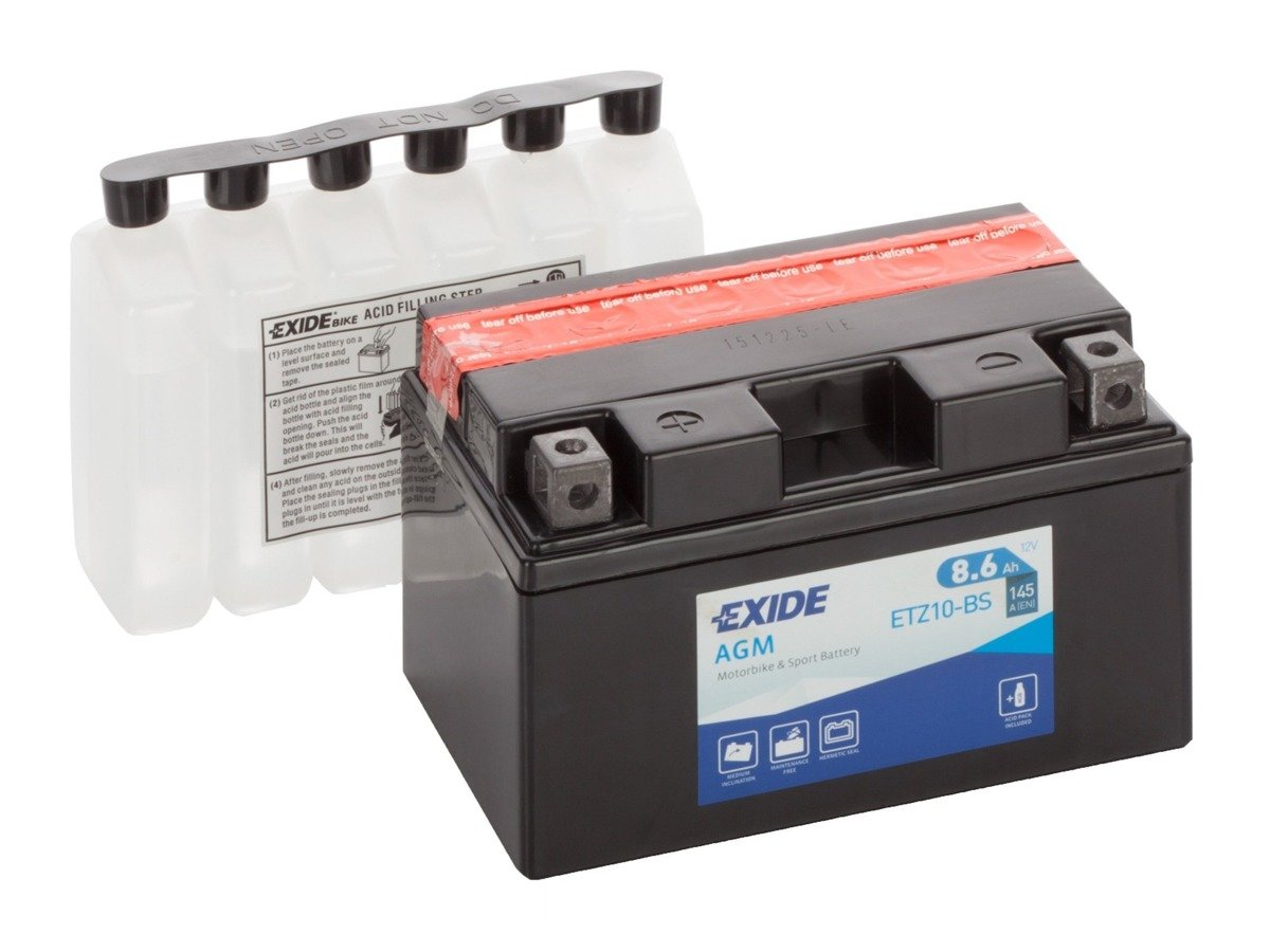 Battery 12V   8,6Ah YTZ10-BS EXIDE