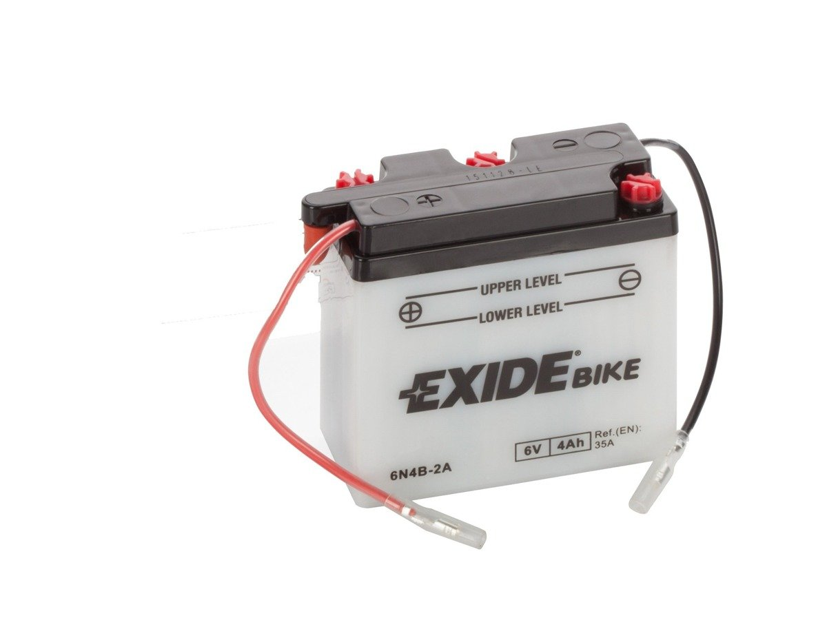 Battery 6V 4Ah 6N4B-2A EXIDE Bike