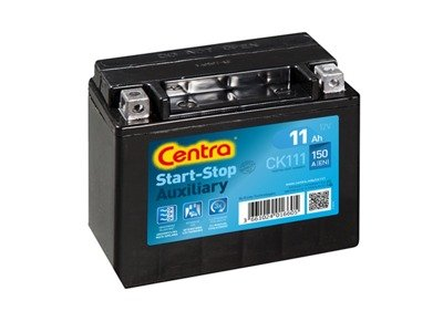Akumulator 12V 11Ah CENTRA START-STOP AGM AUXILIARY CK111