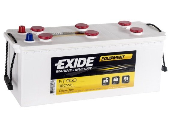 Akumulator 12V 135Ah EXIDE EQUIPMENT ET950