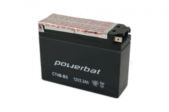 Akumulator Powerbat 2,3Ah CT4B-BS YT4B-BS ET4B-BS
